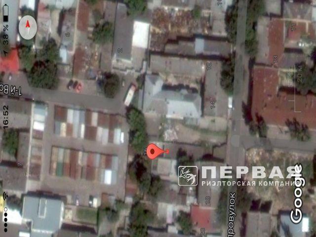 A place to build an apartment building. Voznesensky lane