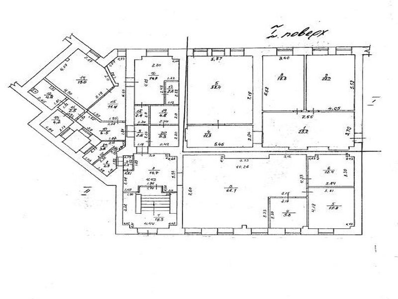 Отдельностоящее здание на Приморском бульваре 2512 кв.м