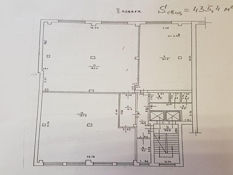 Нежитлове приміщення 435 кв.м. Вул. Бугаївська