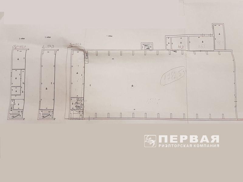 Складское помещение 2100 кв.м. Ул. Бугаевская