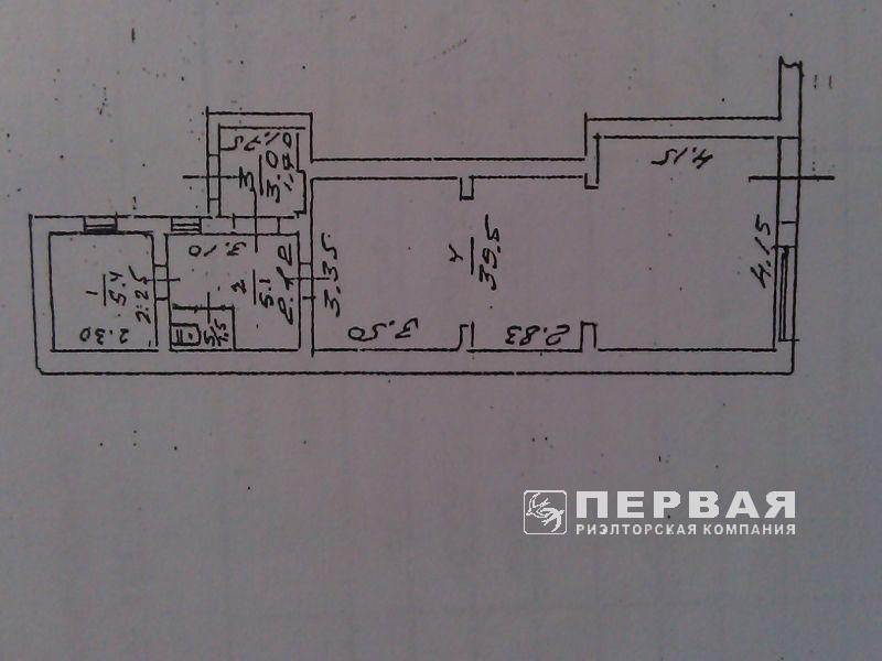 Rent a room on Pushkinskaya / M.Arnautoy 53 sq m