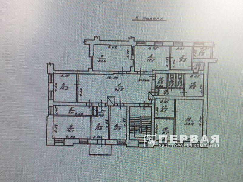 Rent an office on Richelieu / B. Arnautoy 220 sq.m. 10 offices.