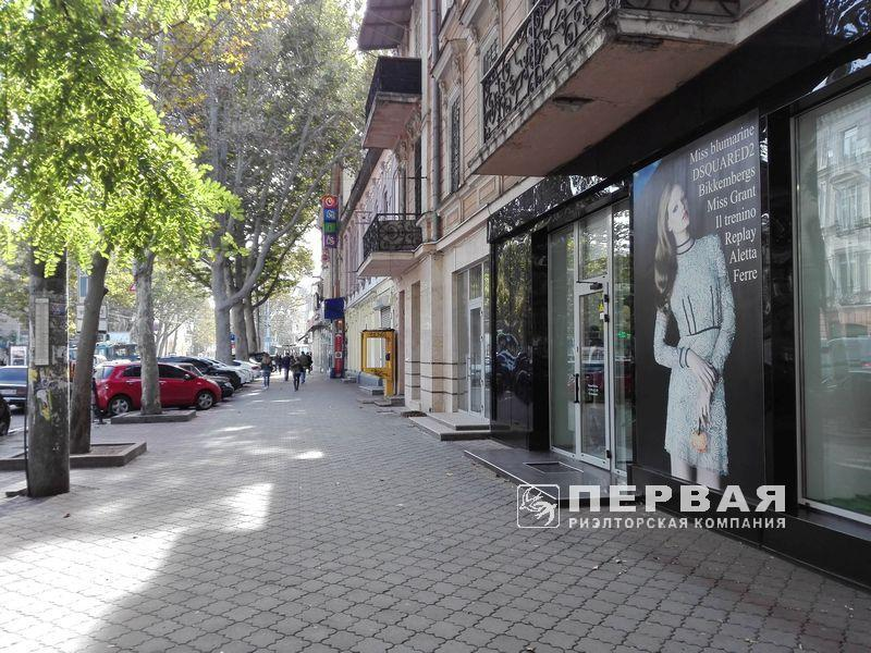 Магазин на Ришельевской / Бунина  — Греческая 100кв.м