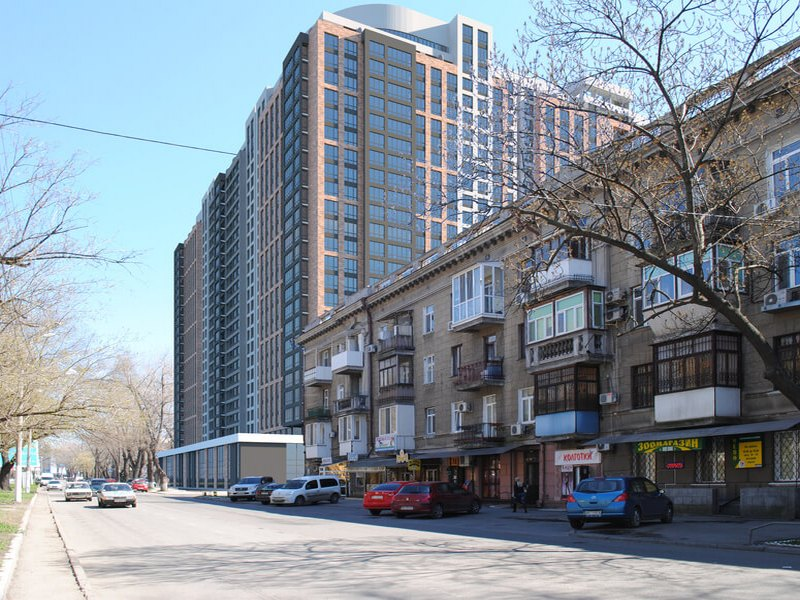 Новий житловий комплекс на пр. Гагаріна 9