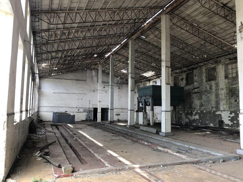 Warehouses and production facilities for sale.