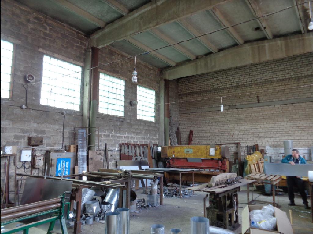 Производственно складской комплекс. Херсон.
