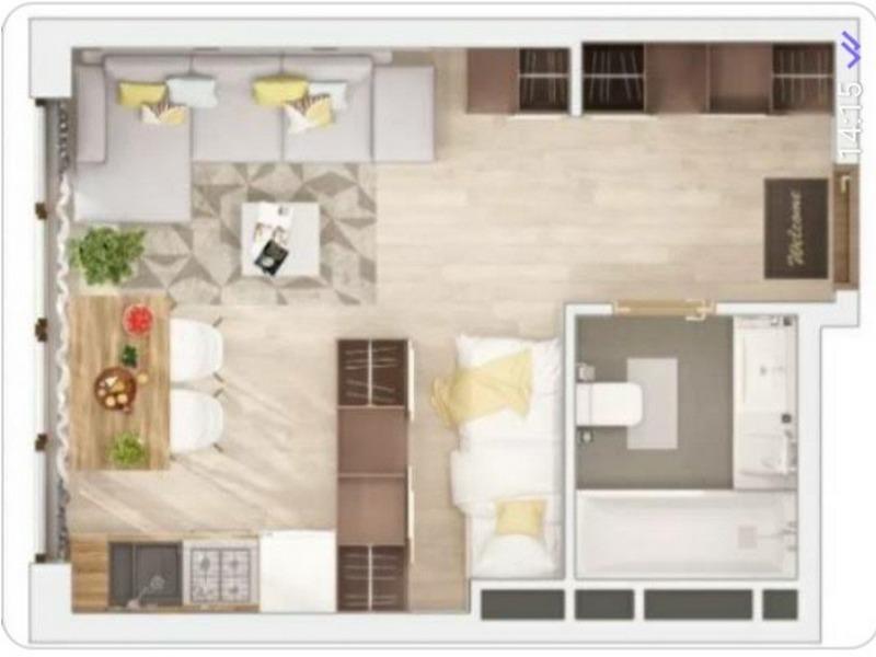 1-но комнатная квартира в новом ЖК «Таировские Сады».