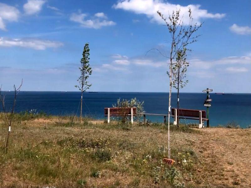 10 соток на берегу моря. Новобугово.