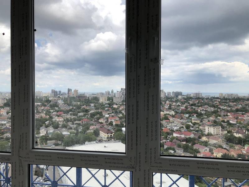 """ЖК """"Омега"""" квартира 68,2 кв.м. с видом на море"""