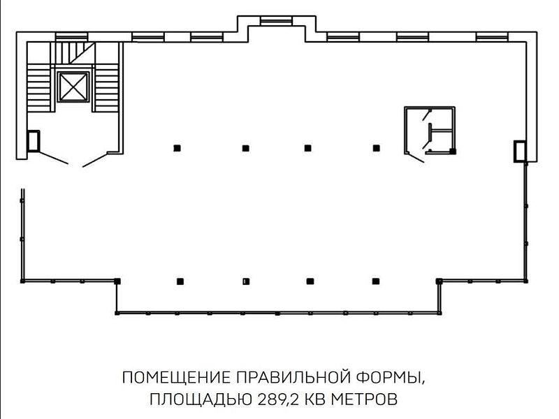 Office rent in the Hretsʹka/ Katerynynsʹka 289 sq m