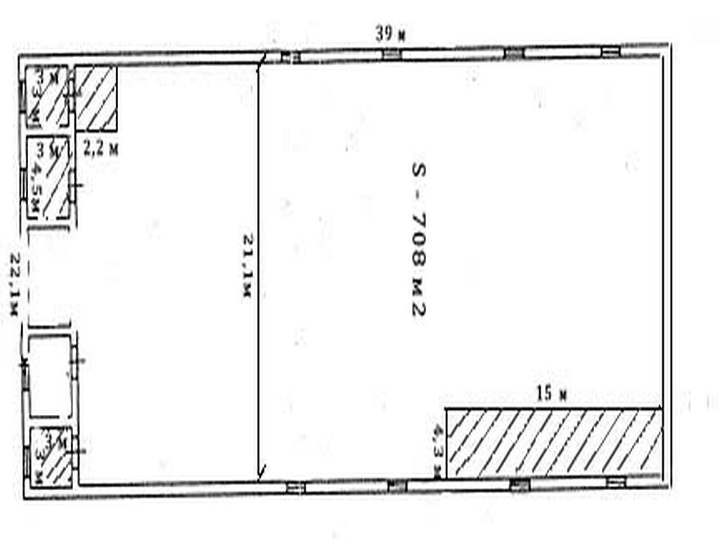 Склад 740 м.кв. Киевская трасса, район Клеверного моста