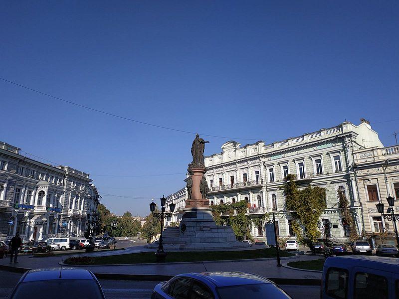 Apartment complex. 490 sq. m. Ekaterininskaya square