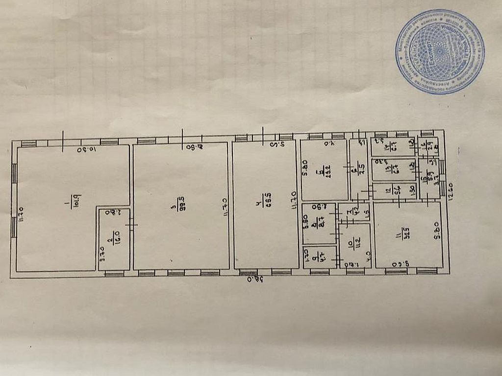 Warehouse and industrial premises of 2200 sq. m