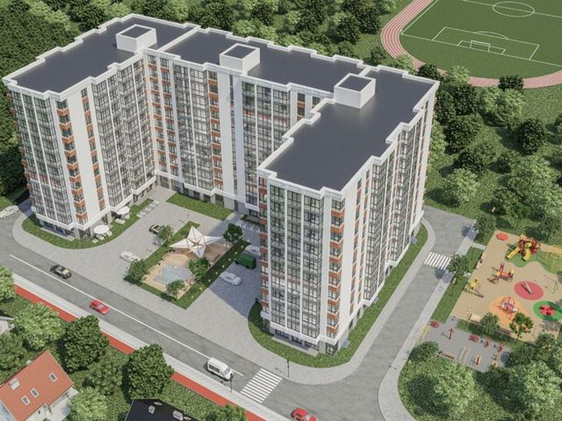 2-bedroom apartments from 49 sq. m. in a new building on Cheryomushki