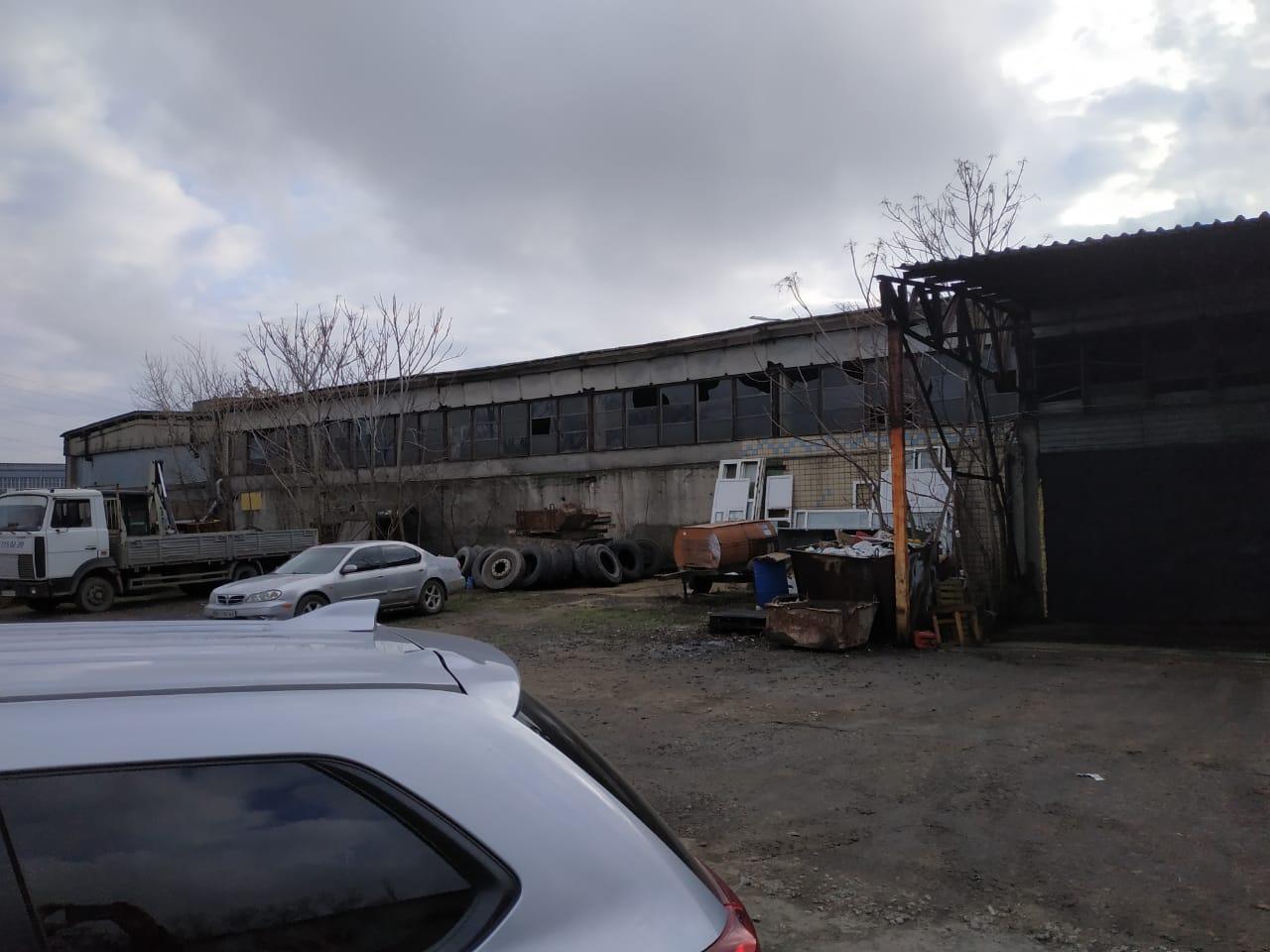 Виробничо-складський комплекс. Вул. Хімічна