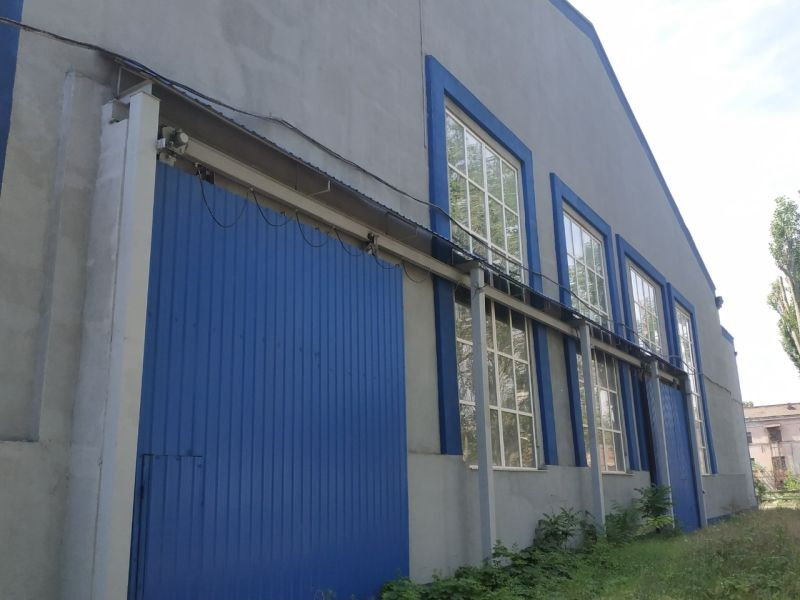 Industrial complex, building Lime. 9400 sq. m