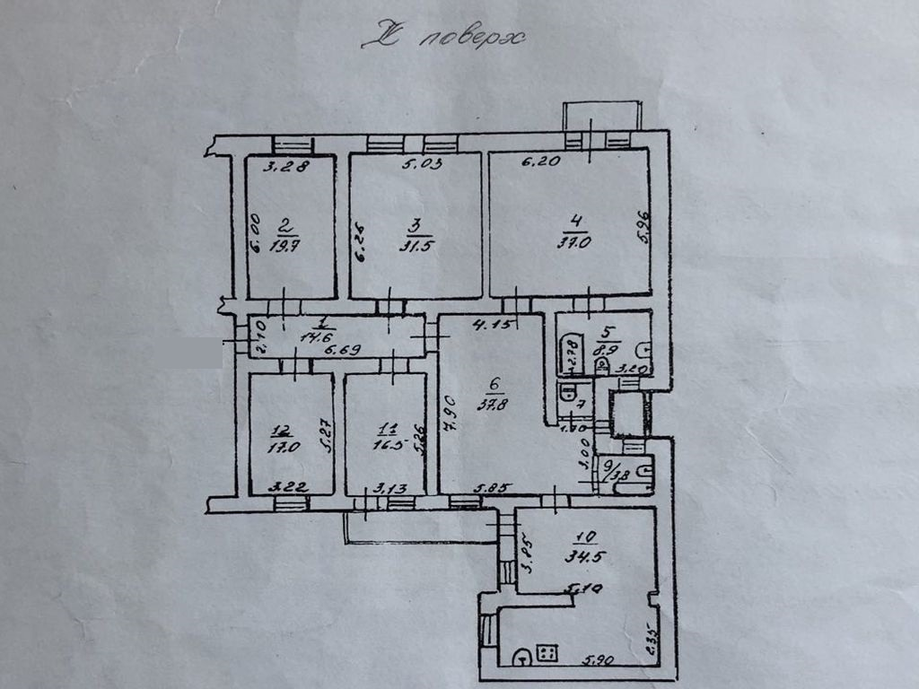 5-ти кімнатна квартира. Вул. Катерининська