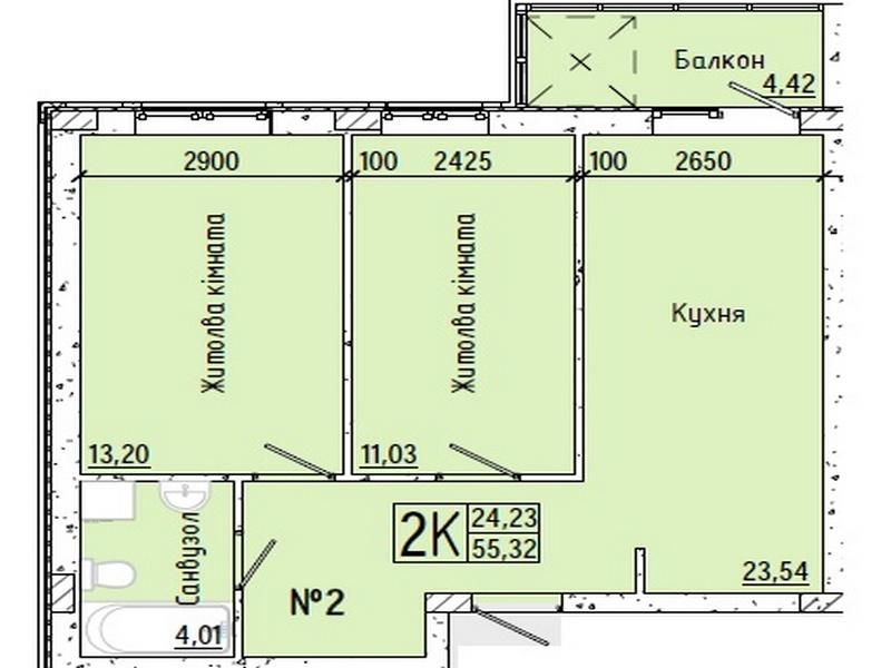 ЖК «Акварель-7» на Слободке! Выгодная рассрочка после сдачи дома!