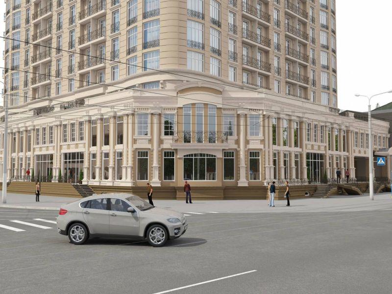 Аренда офиса 1700 кв.м в новом ЖК Бельэтаж