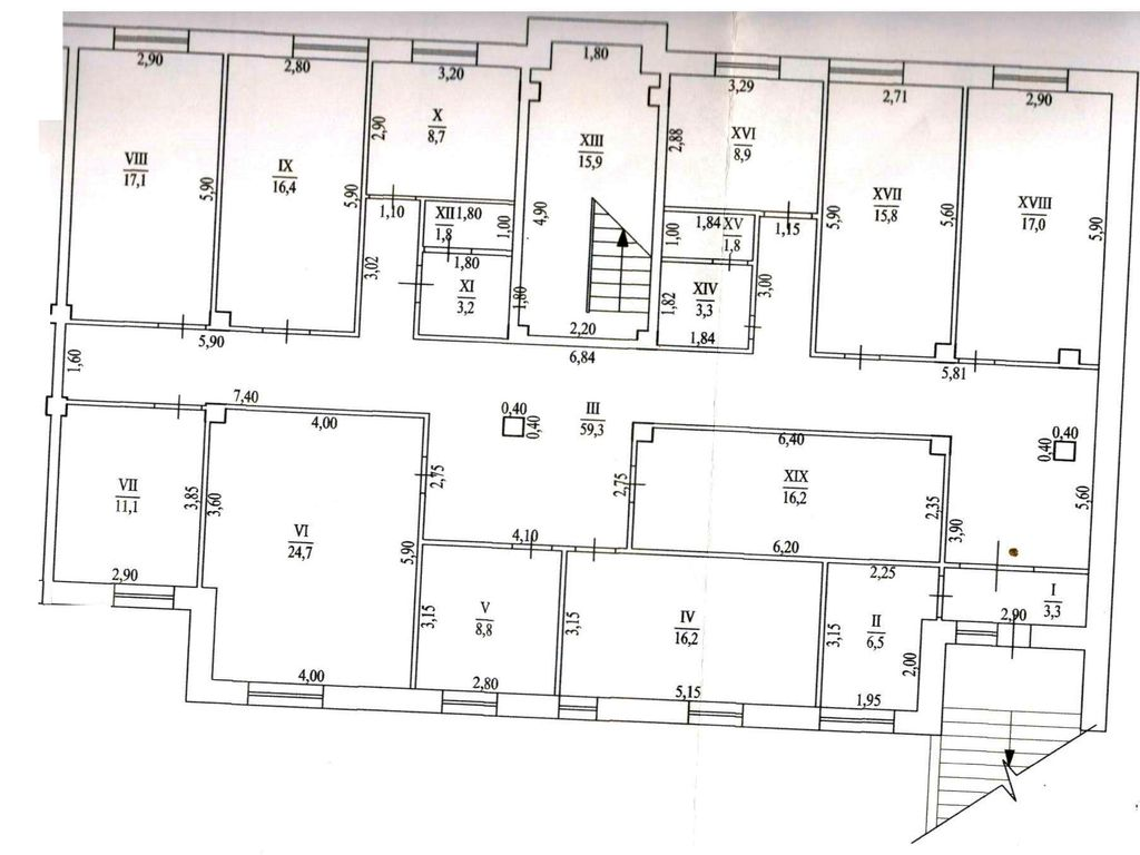 "The room under the salon, fitness center RC ""Novosel"""