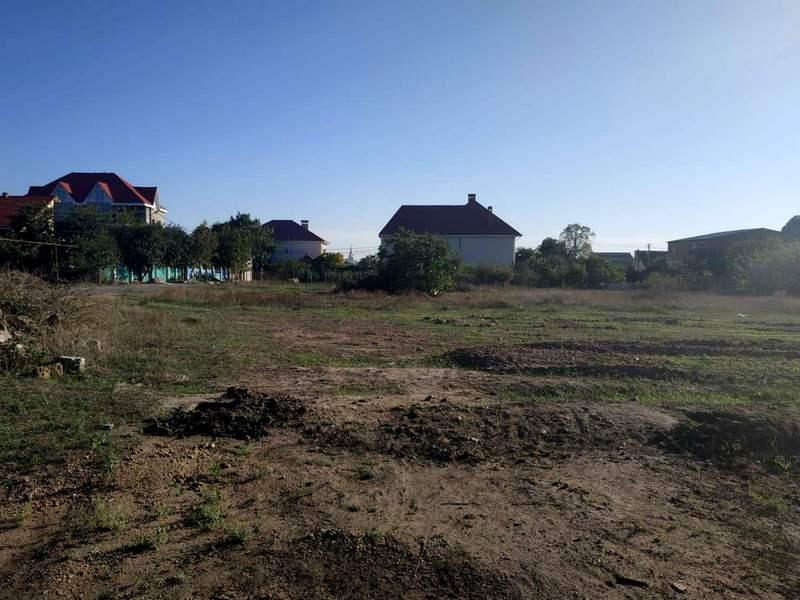 plot in the village of Sukhoi estuary