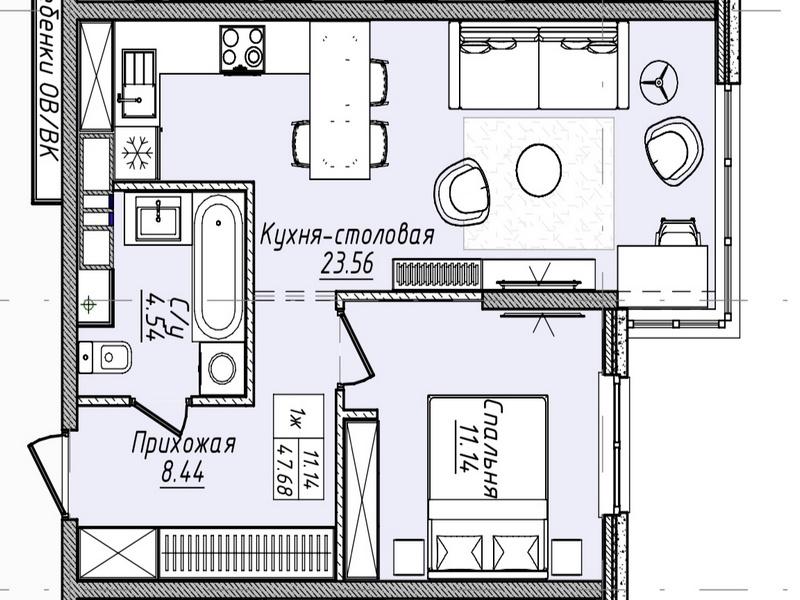 Современный комплекс новых жилых домов MАNDARIN ART