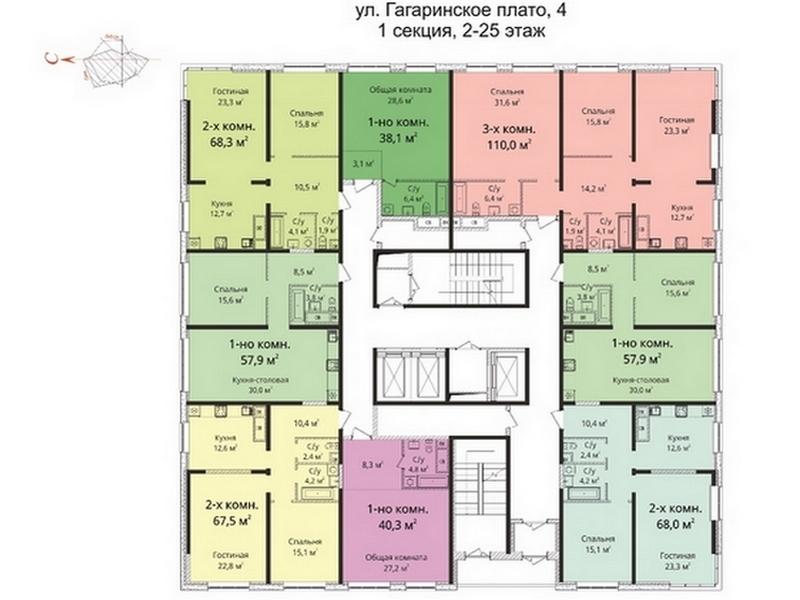 """2-х кімнатна квартира в ЖК """"Sea View"""""""