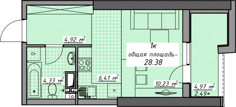 ЖК АТМОСФЕРА Продажа квартир от застройщика, без комиссионных!