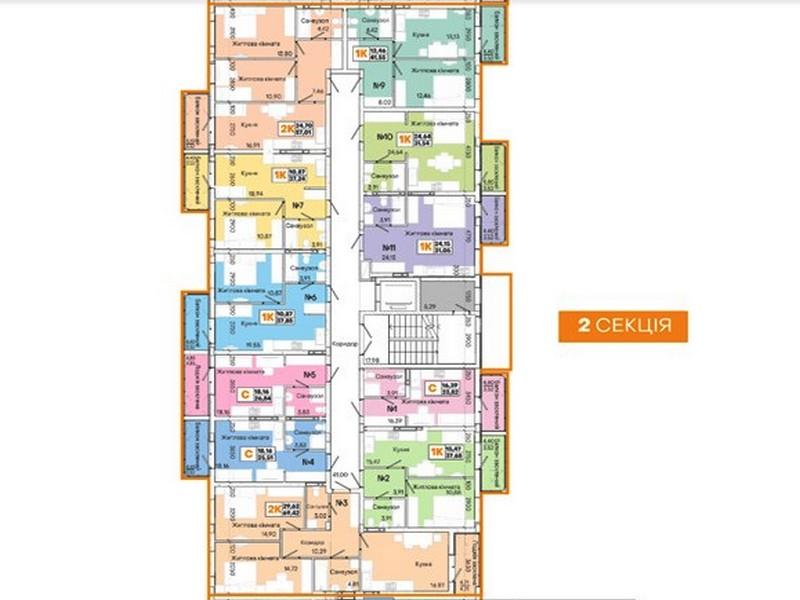 1-но комнатные квартиры в новом доме на Слободке