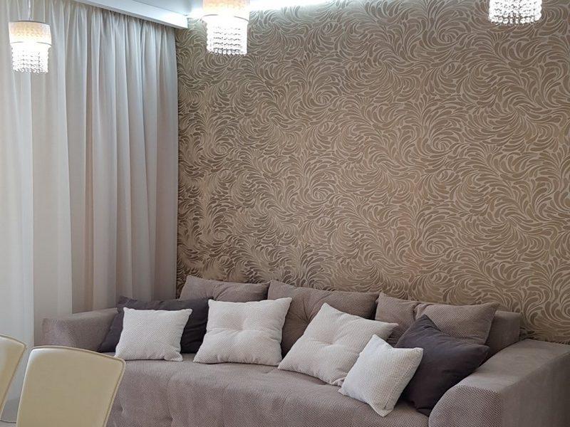 1-но комнатная квартира с ремонтом в ЖК Омега пл. Толбухина