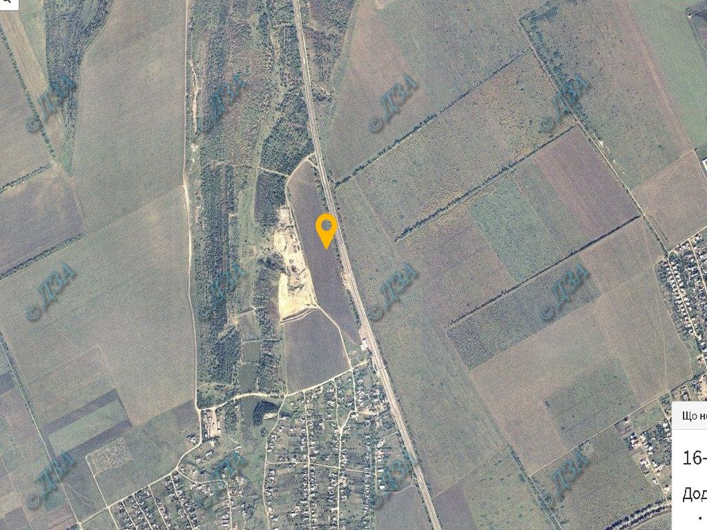 Plot 9.76 hectares Kiev highway.