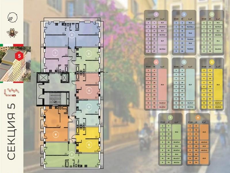 2-х комнатные квартиры в новом доме на Ак. Королева