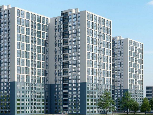 1-но комнатные квартиры от 35,9 кв.м.