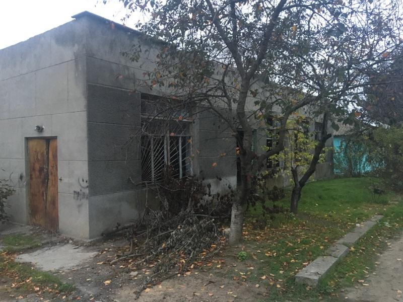 Одноэтажное здание в Овидиополе. Улица Одесская.