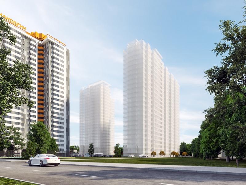 2-х комнатные квартиры от 68 кв.м в новом доме