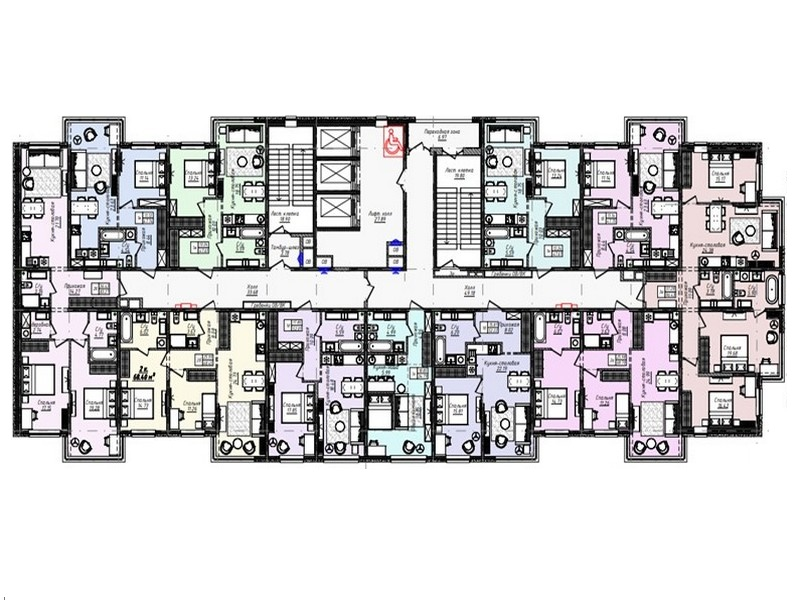 3-х комнатные квартиры от 96 кв.м на Канатной.