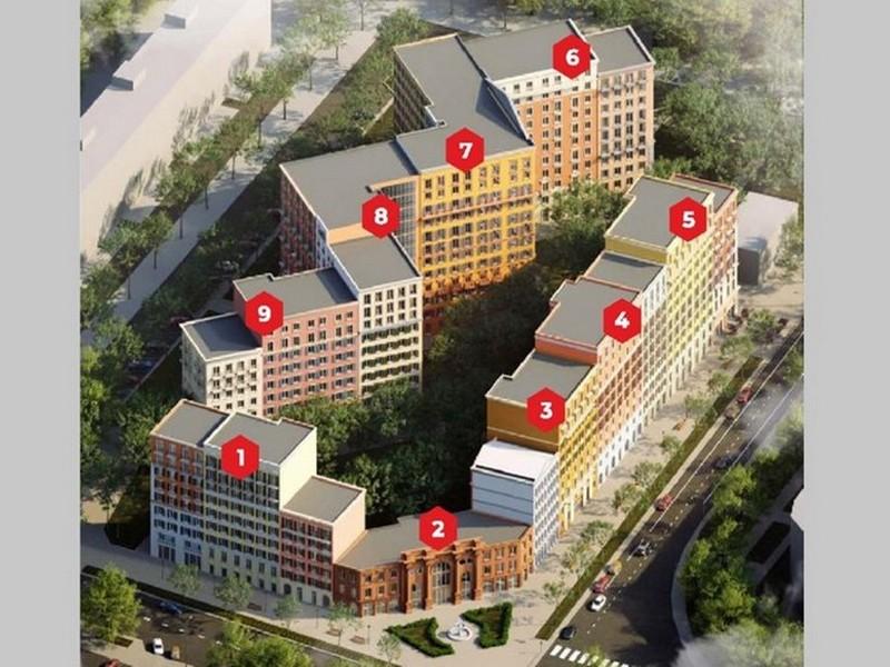 1-но комнатные квартиры в новом доме на Ак. Королева