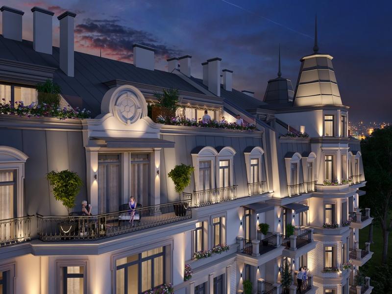 Консул – класичний клубний будинок