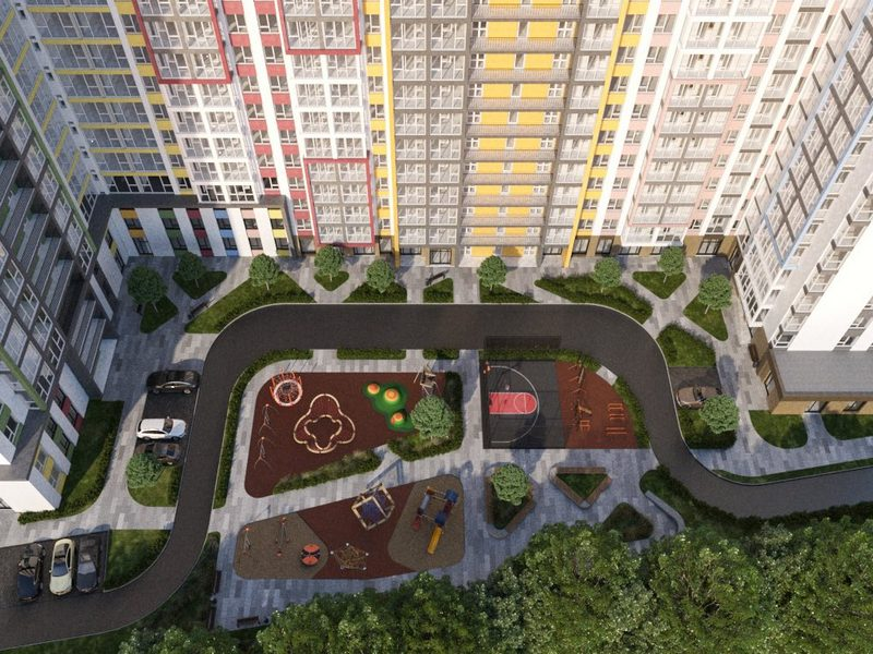 2- room apartments from 53 sq.m. on Tairova