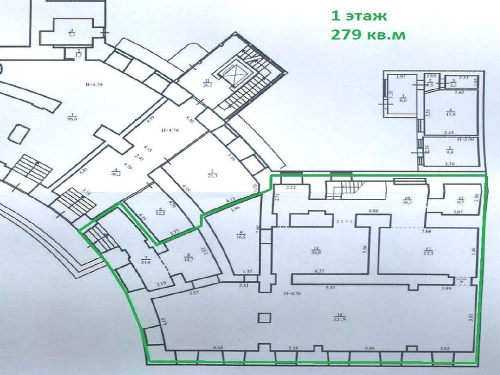 Аренда кафе на Приморском бульваре 393 кв.м.