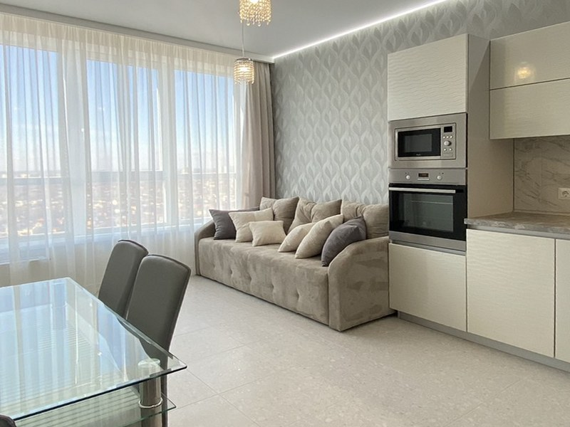Luxurious apartment 54 sq.m. on the Fontana