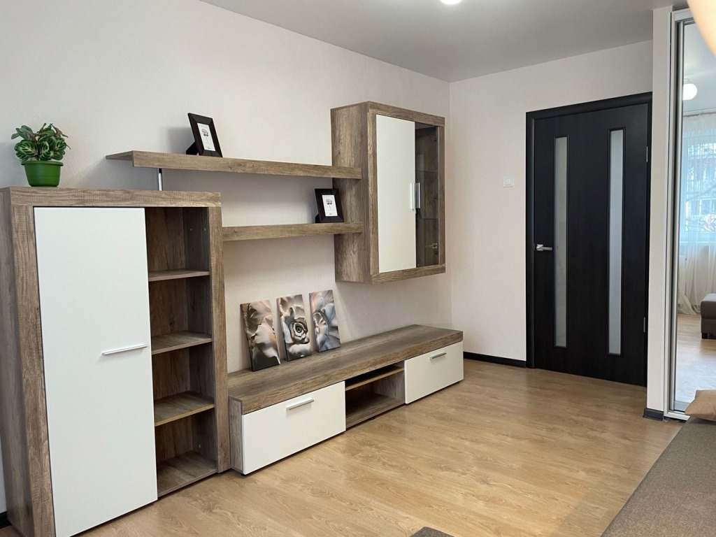 2-room apartment renovated, Malinovskogo street