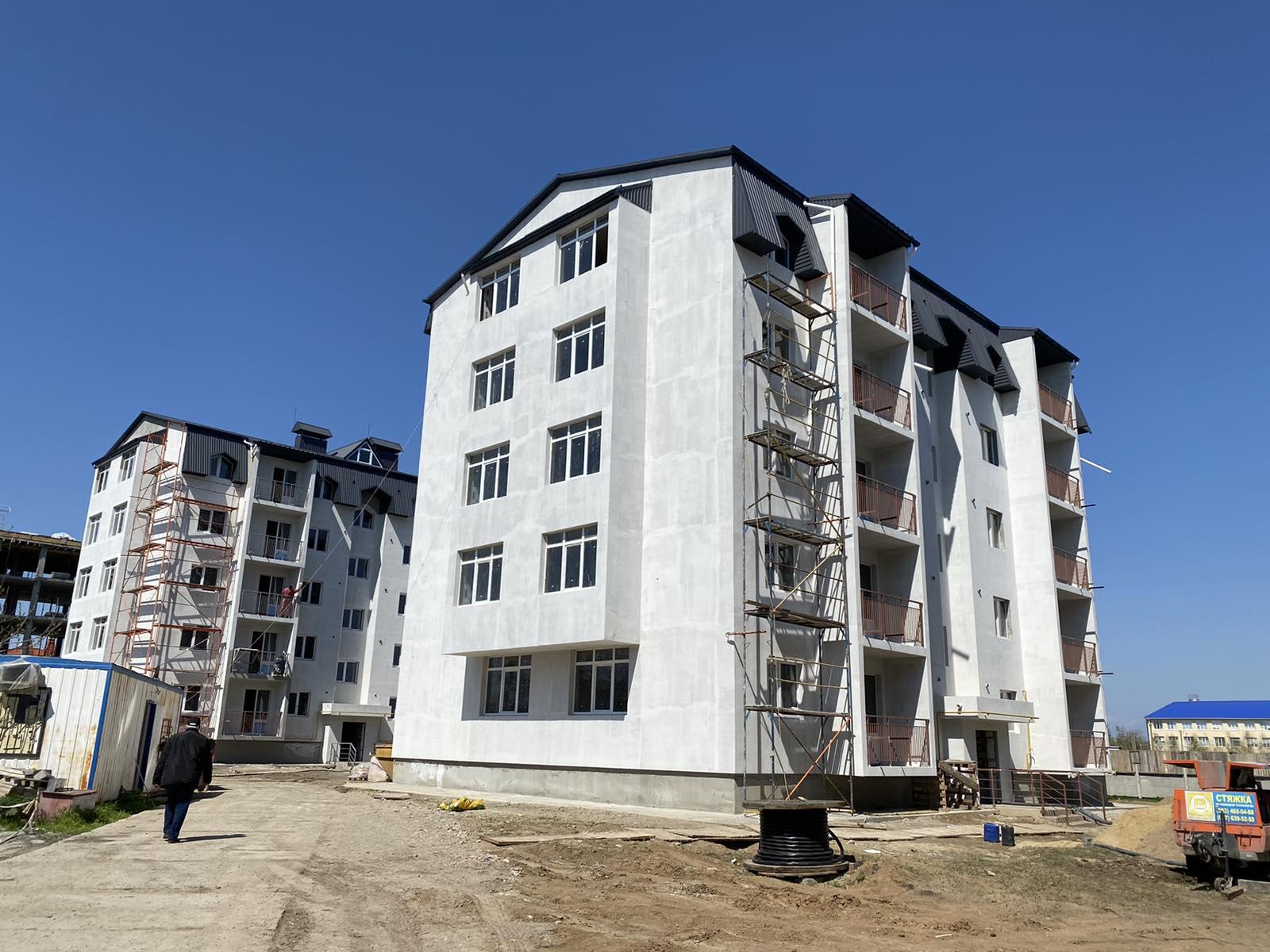 2-х комнатная квартира 43 кв.м в новом доме, с.Молодежное