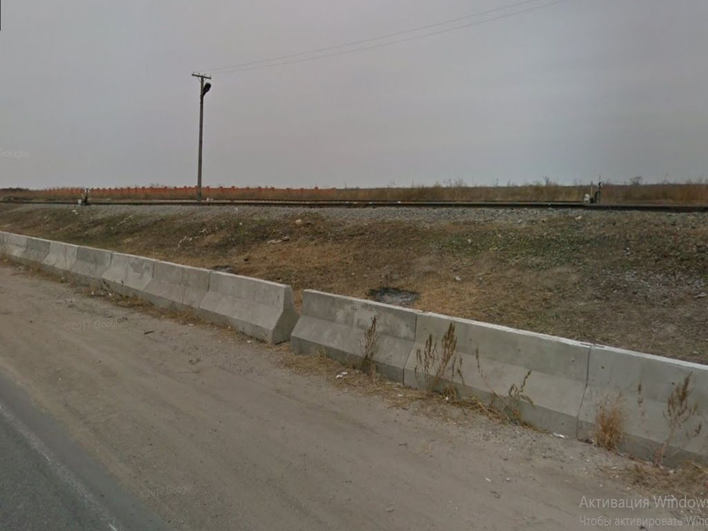 Front section near the crossing. 1.2 hectares