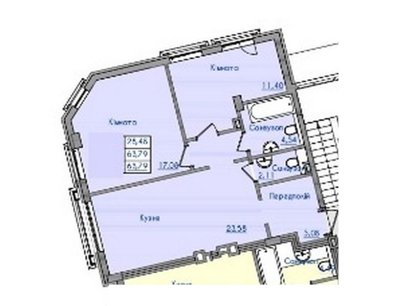 "2-х, 3-х комнатные квартиры в клубном доме ""Консул"""