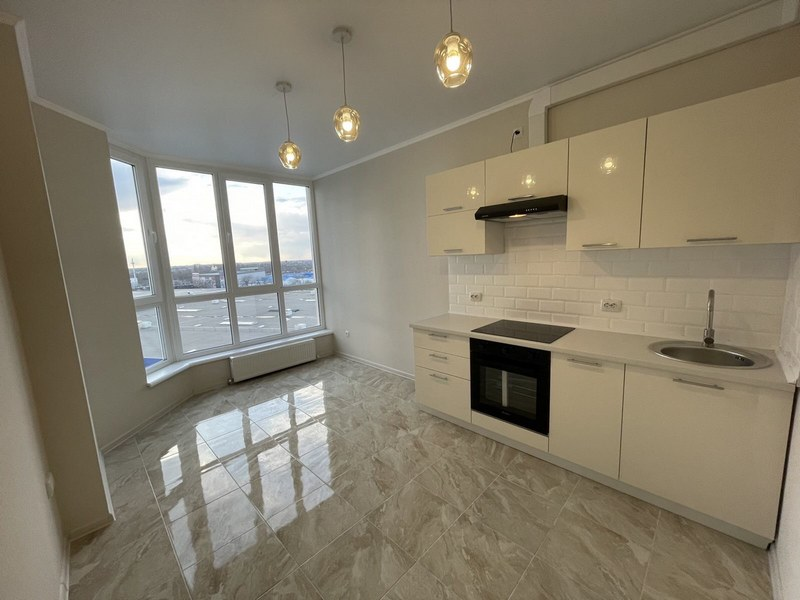 1-room apartment with renovation  in a new house on Williamsa.
