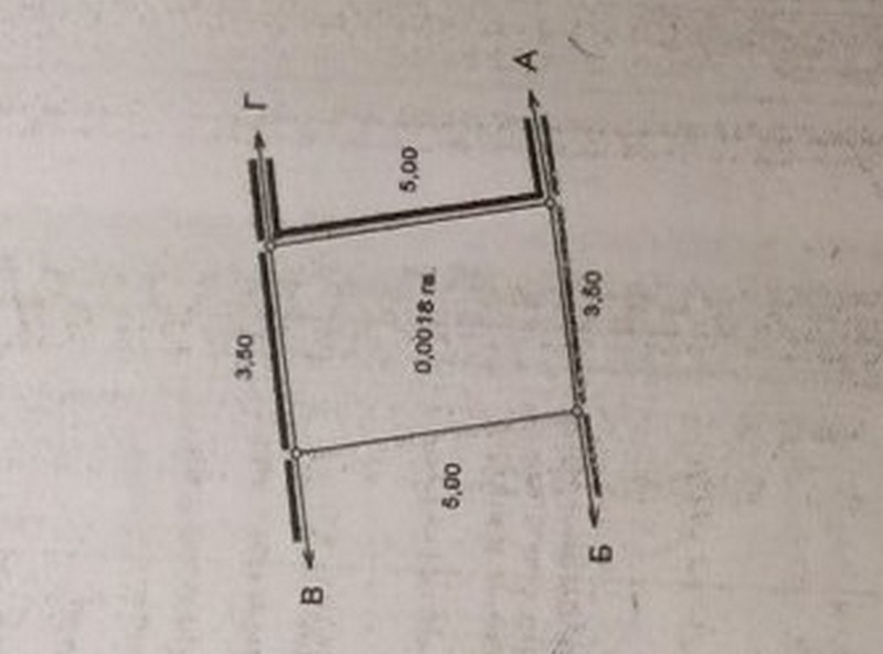 Land for sale with a house on the Fontana