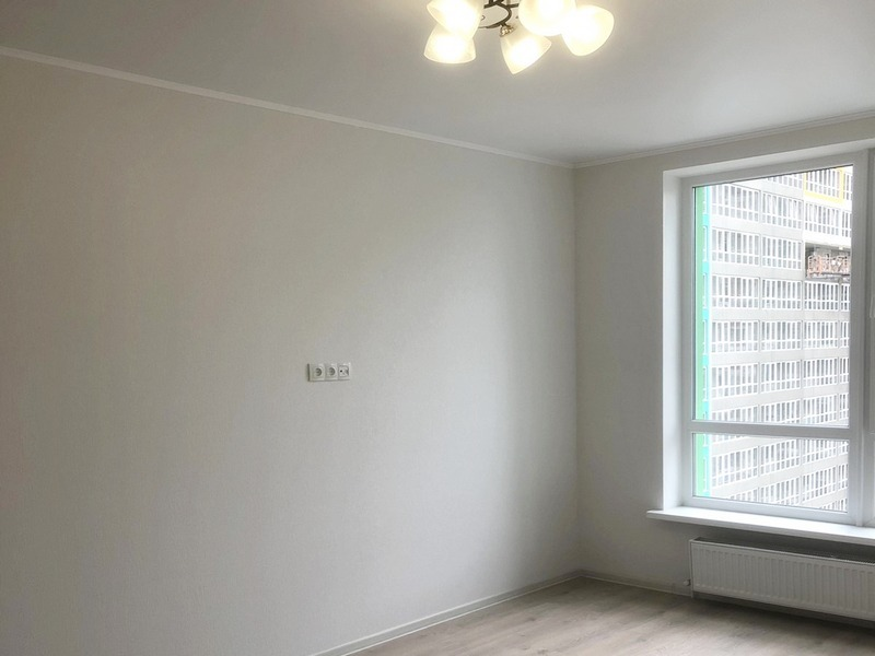 1-bedroom apartment with renovation in a new building