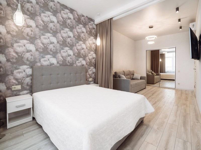 1-но комнатная квартира с ремонтом на Генуэзской.