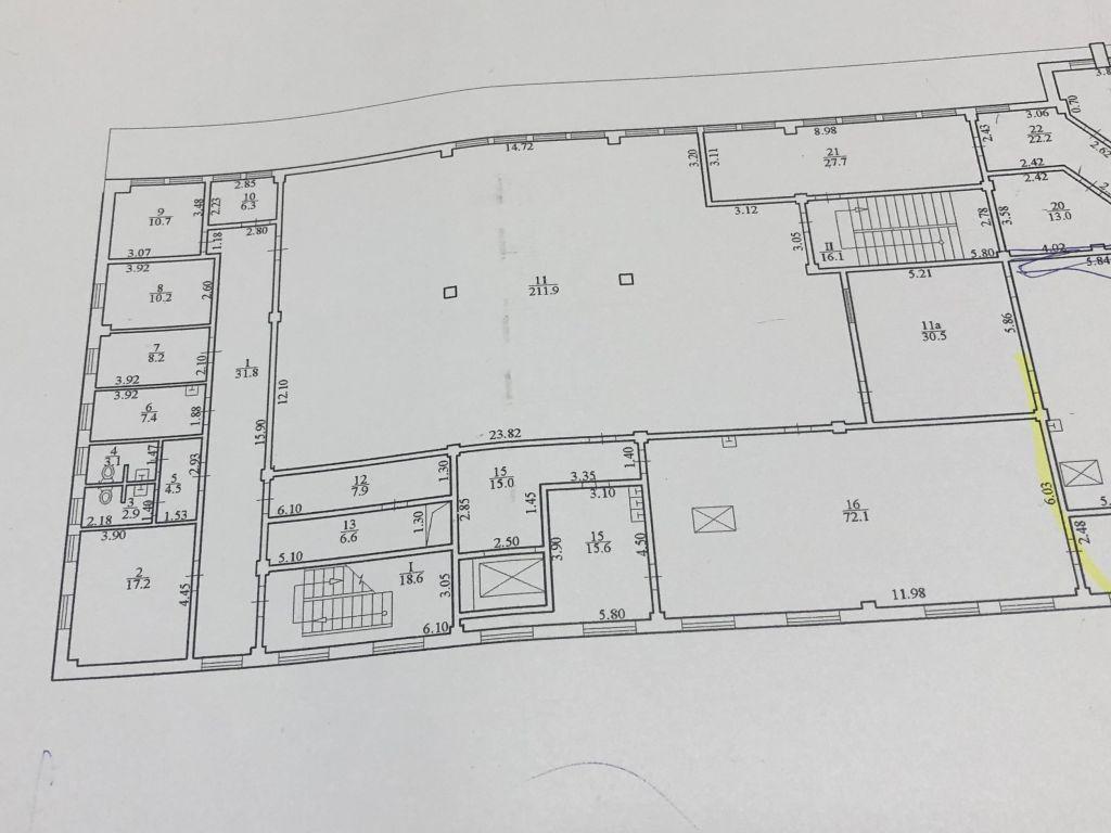 Administrative and production building on Izvestkovaya